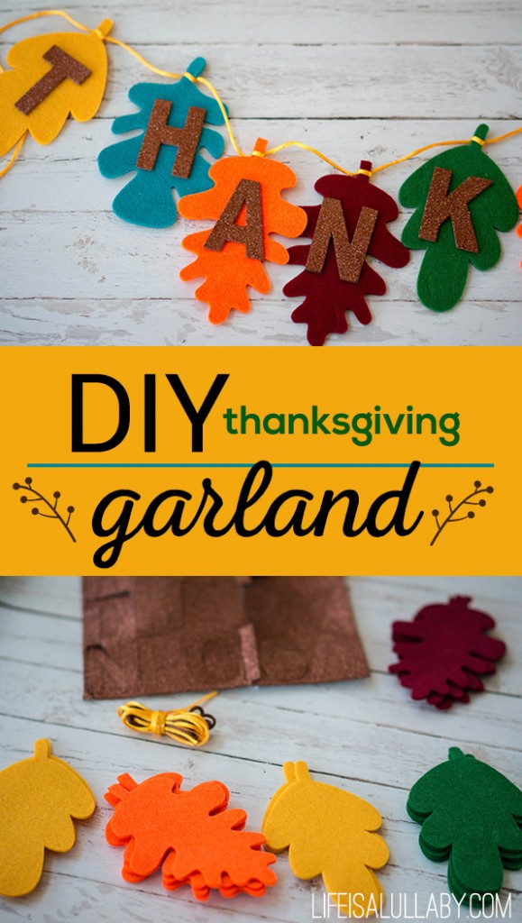 Diy Thanksgiving Garland Banner1