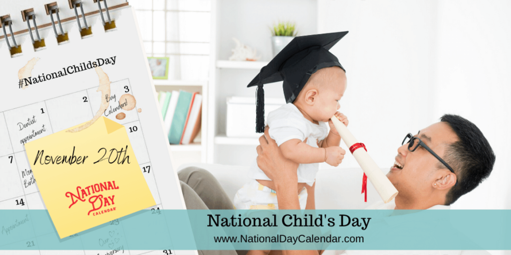National Childs Day November 20 2019