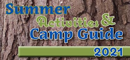Feb 2021 Summer Activities & Camp Guide 2021 Header 416x193