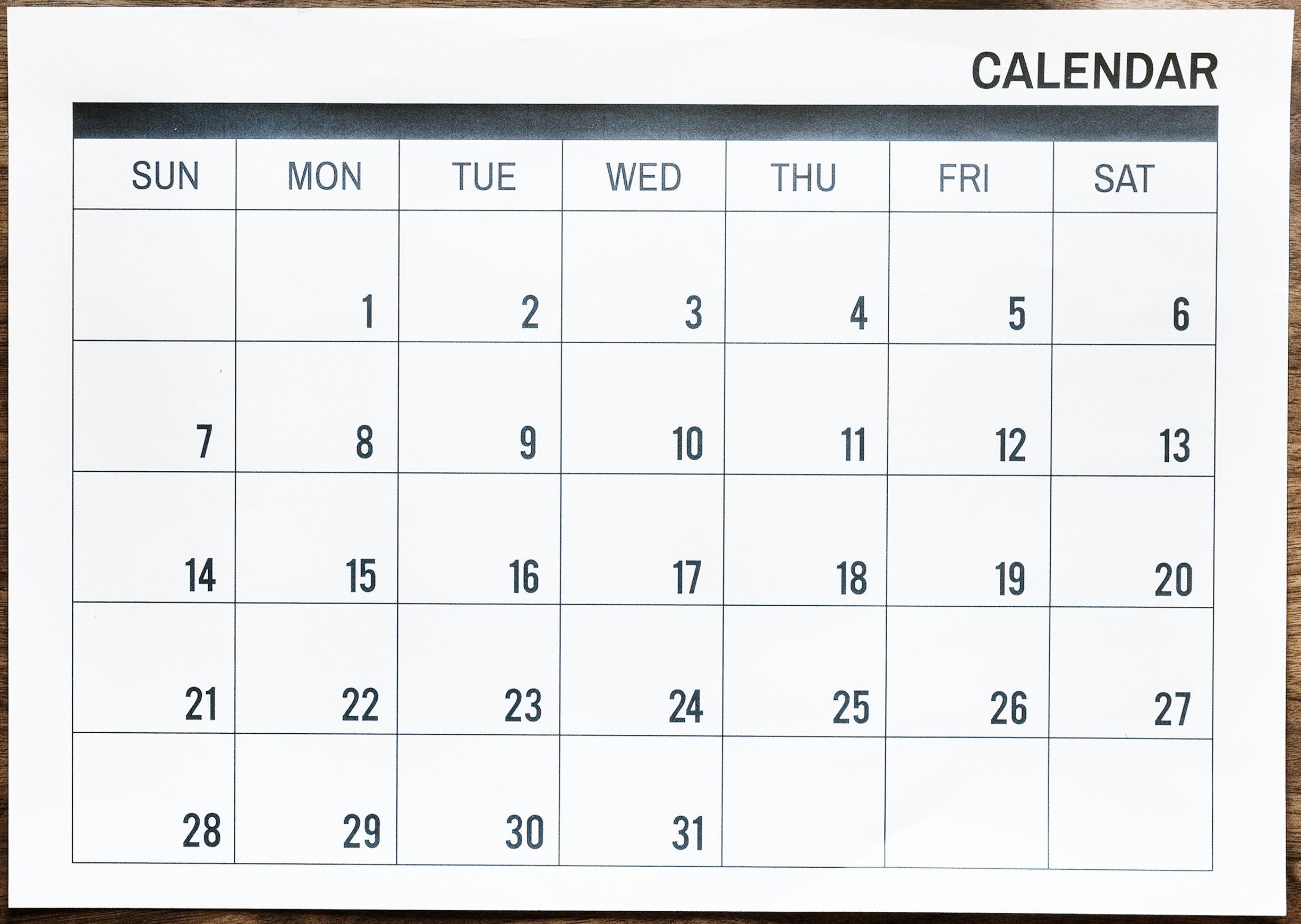 Adobestock 341153778 Calendar Graphic