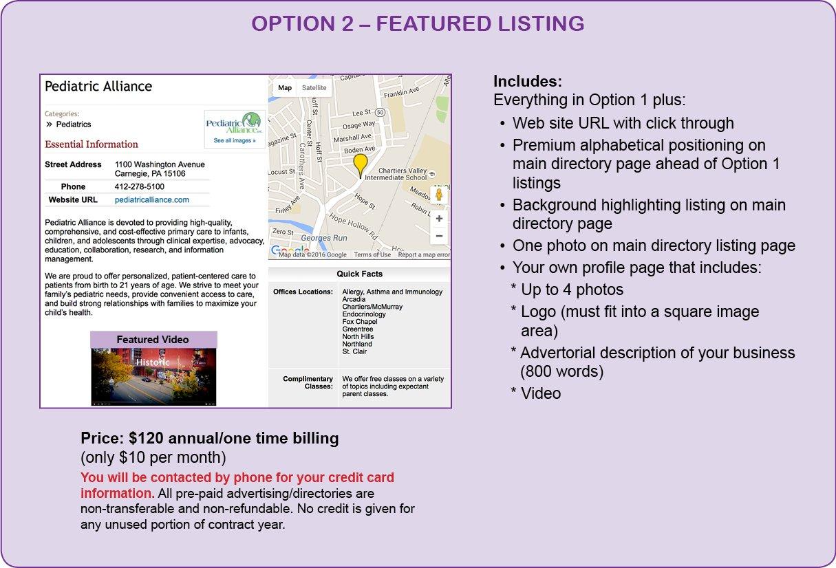 Resource Directories Option 2 Informationc1