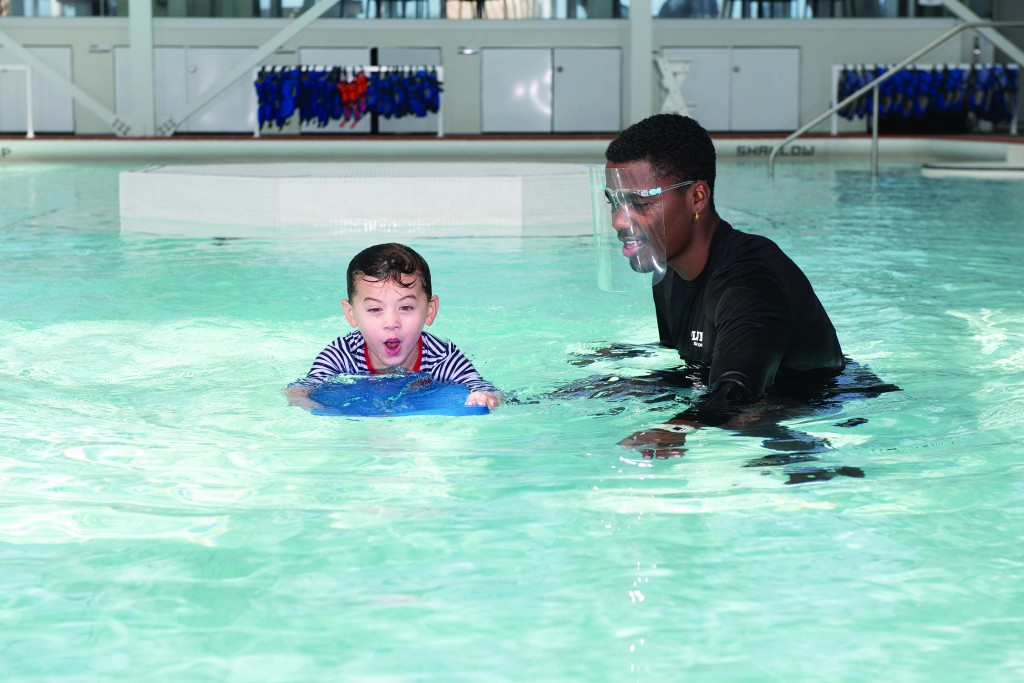 Indoor Swim Lesson Promotion By Mike Lewis