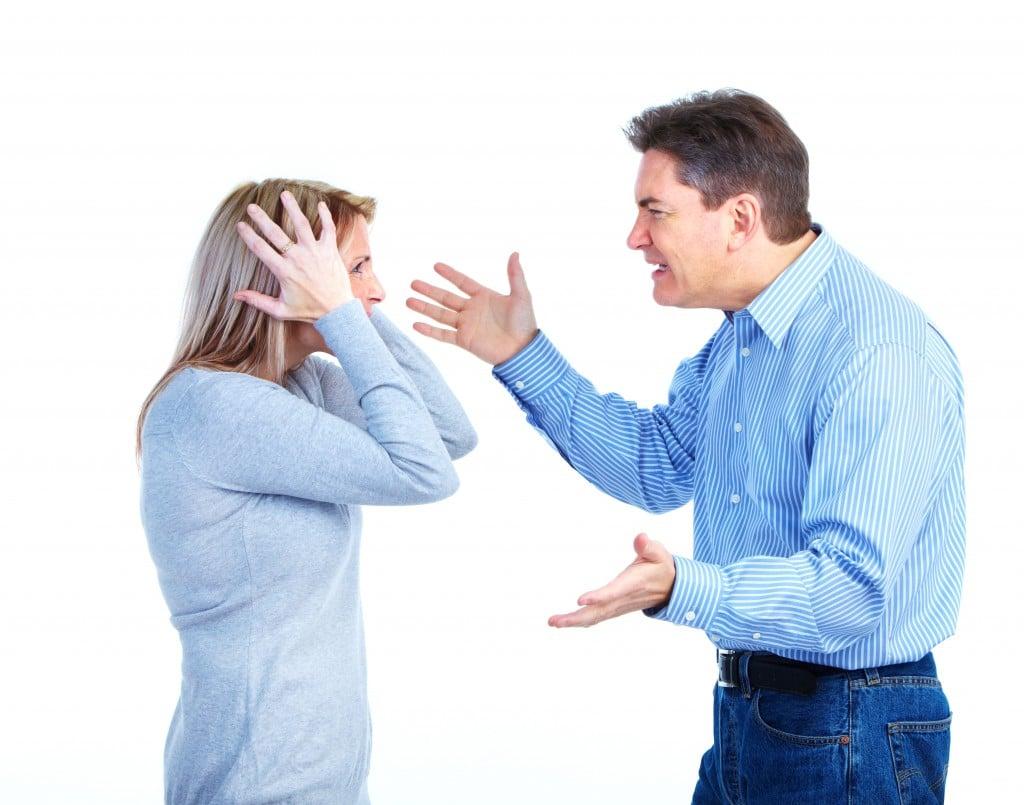 Angry Couple.