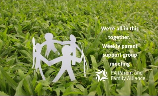 Copy Of We're All In This Together. Weekly Parent Support Group