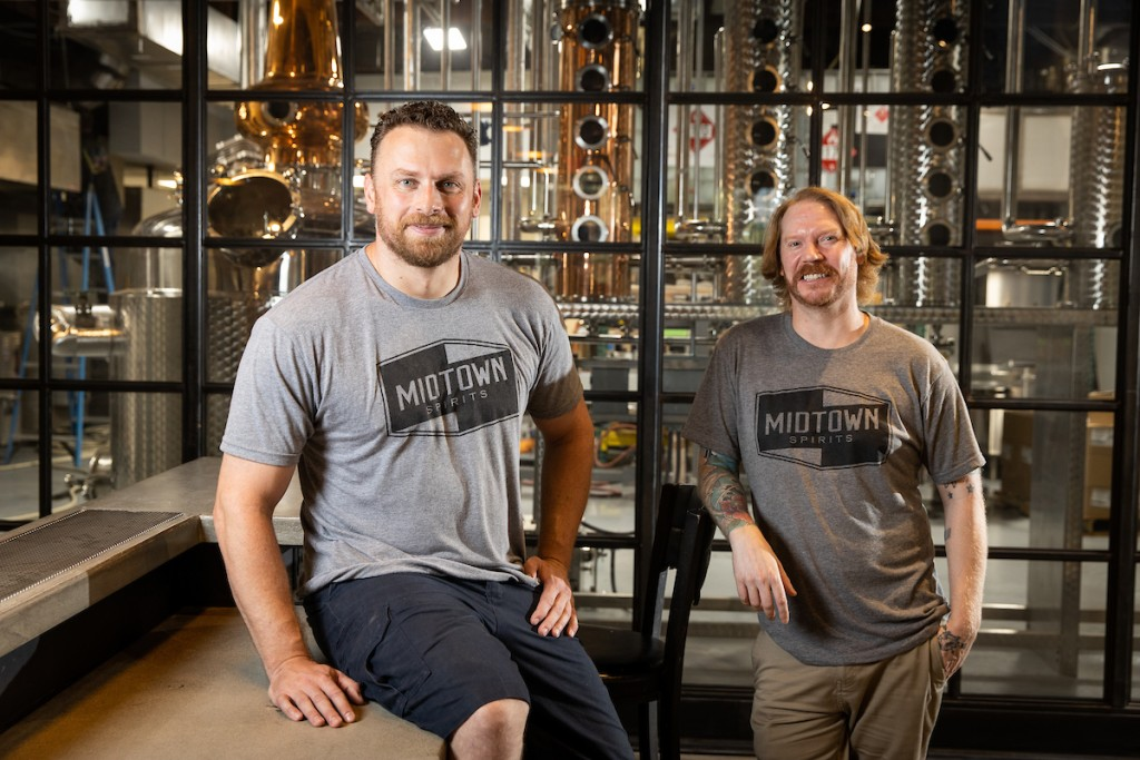 Midtown Spirits co-owners Jason Poole and David Abrahamsen