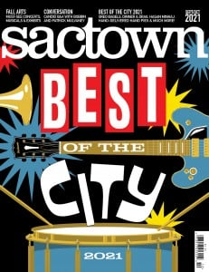 The cover of Sactown's Best of the City issue