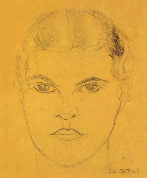 Self Portrait Web