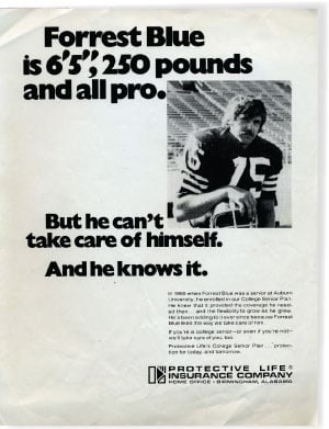 A 1970s life insurance ad foreshadowed the tragic reality of his later years.