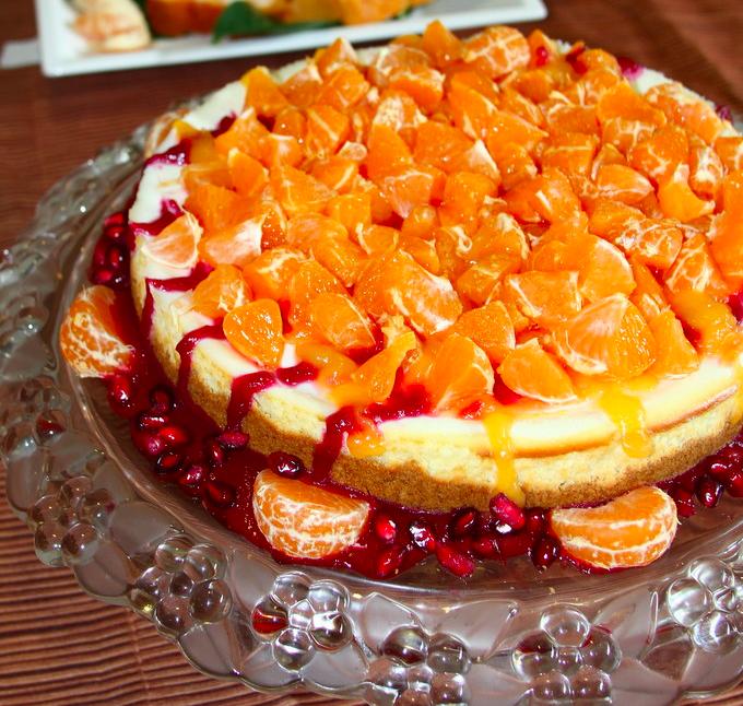Mandarincheesecake