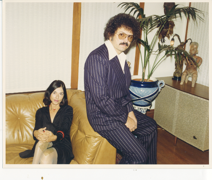 Lena and Mel at their Rockridge home in 1978. (Photo courtesy of Mel Ramos)