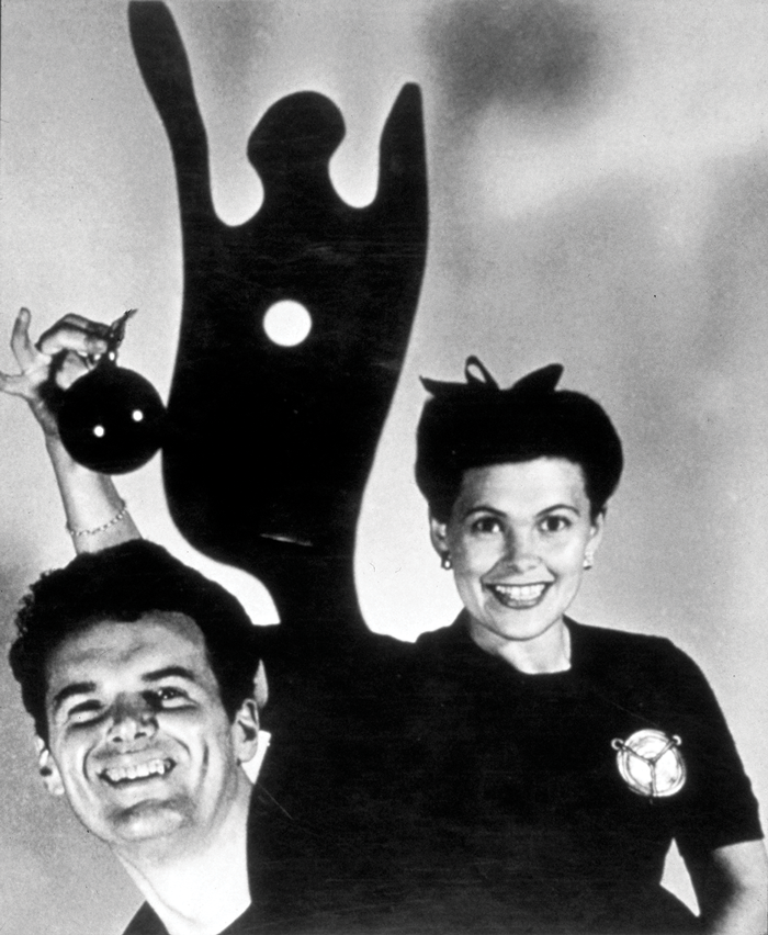 Charles and Ray Eames' 1944 Christmas card (Photo courtesy of and © Eames Office, LLC)
