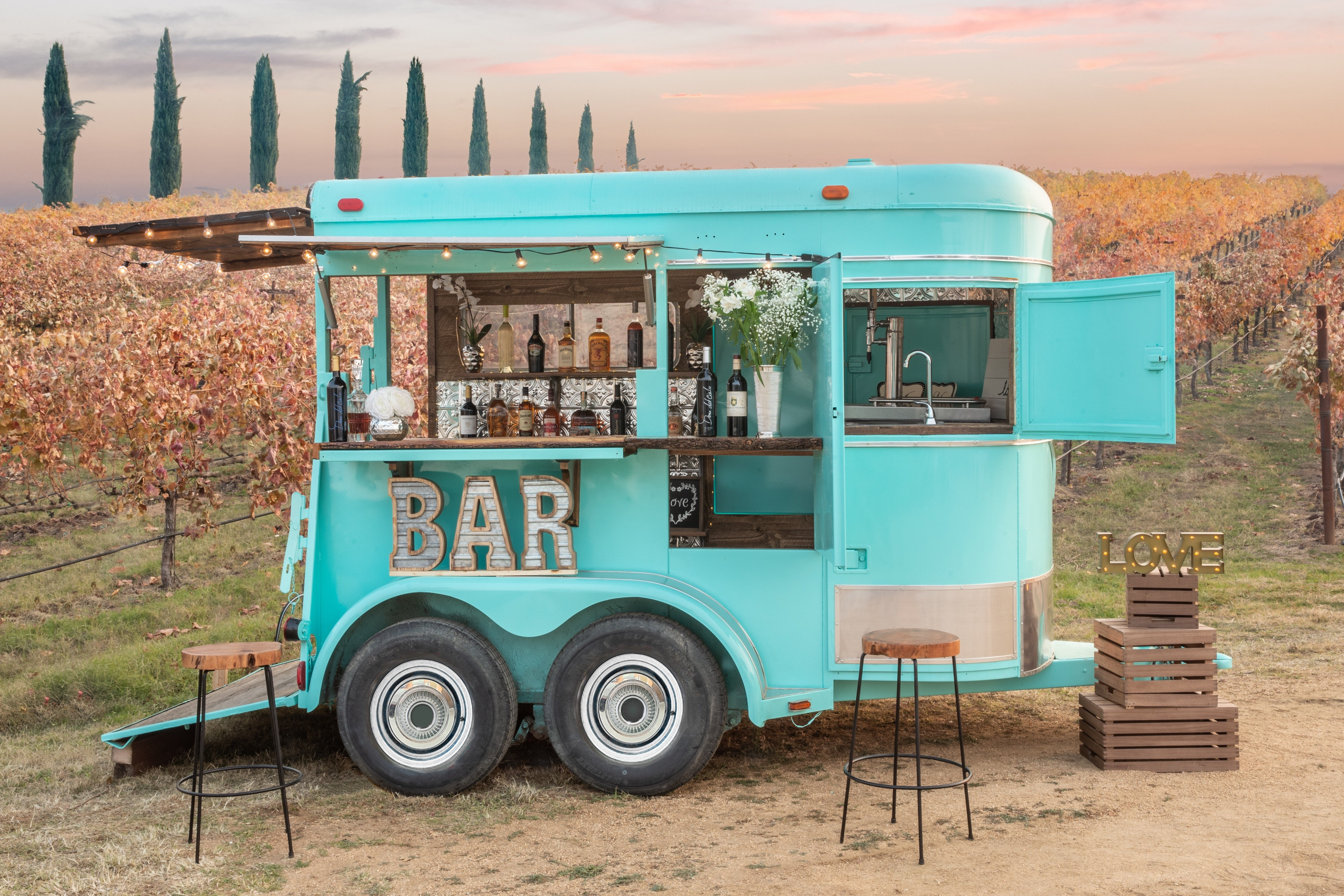 Sacramento S Mobile Bars
