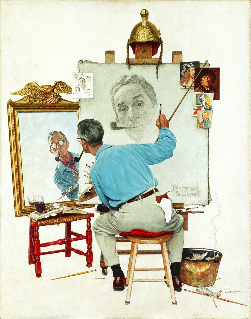 Tripleselfportrait