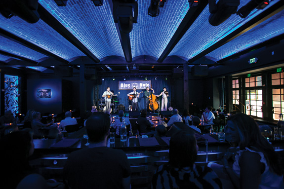 Sidle up to the bar and hear all that jazz at the new Blue Note Napa. (Photo by Jeremy Sykes)