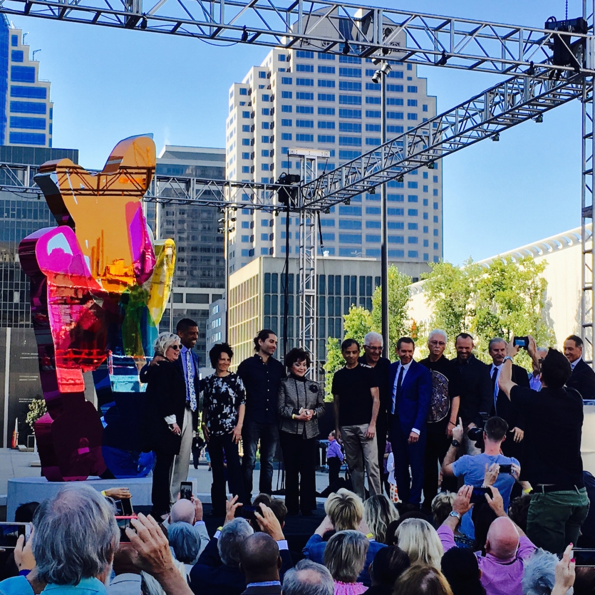 """Coloring Book"" was unveiled at Golden 1 Center on Sept. 26, 2016."