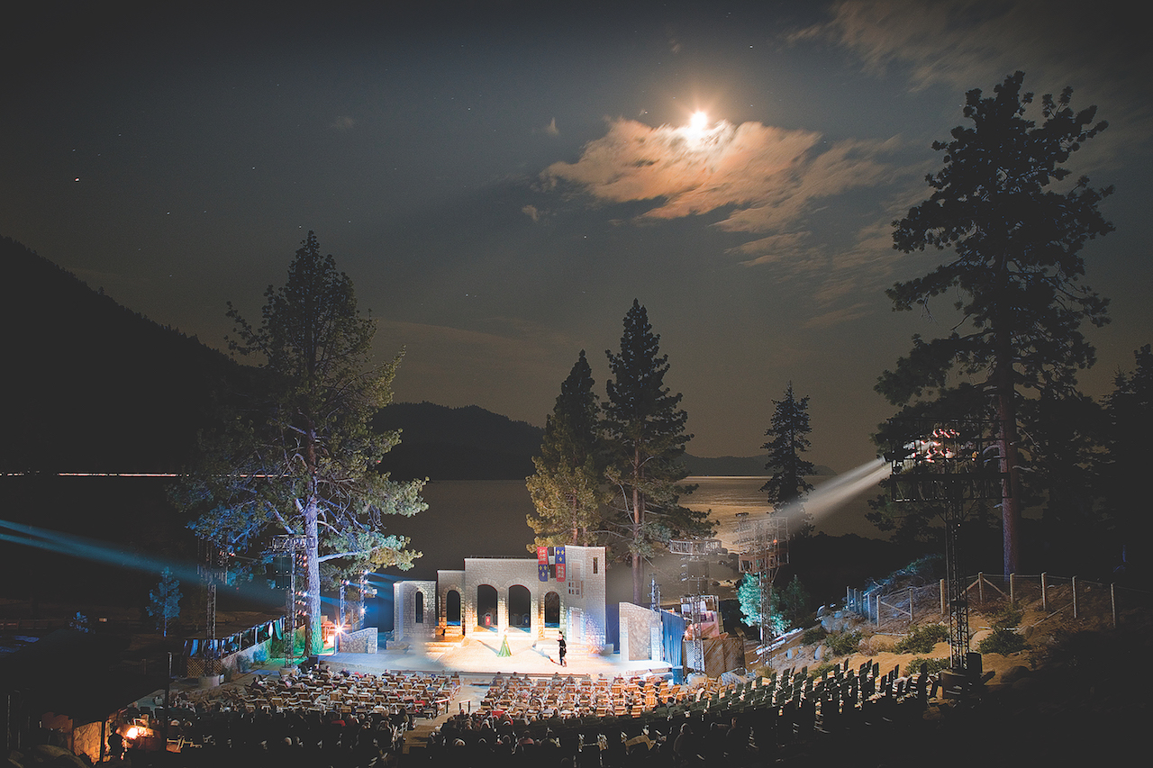 "This year's Lake Tahoe Shakespeare Festival will mount an outdoor production of ""The Taming of the Shrew."" (Photo by Jeff Dow)"