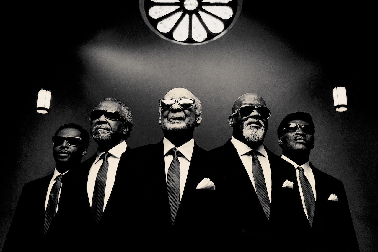 Go tell it on the mountain: The Blind Boys of Alabama are bringing their annual holiday concert to the Crest. (Photo by Jim Herrington)