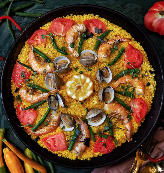 Seafood paella (Photo by Tiffany Lo)