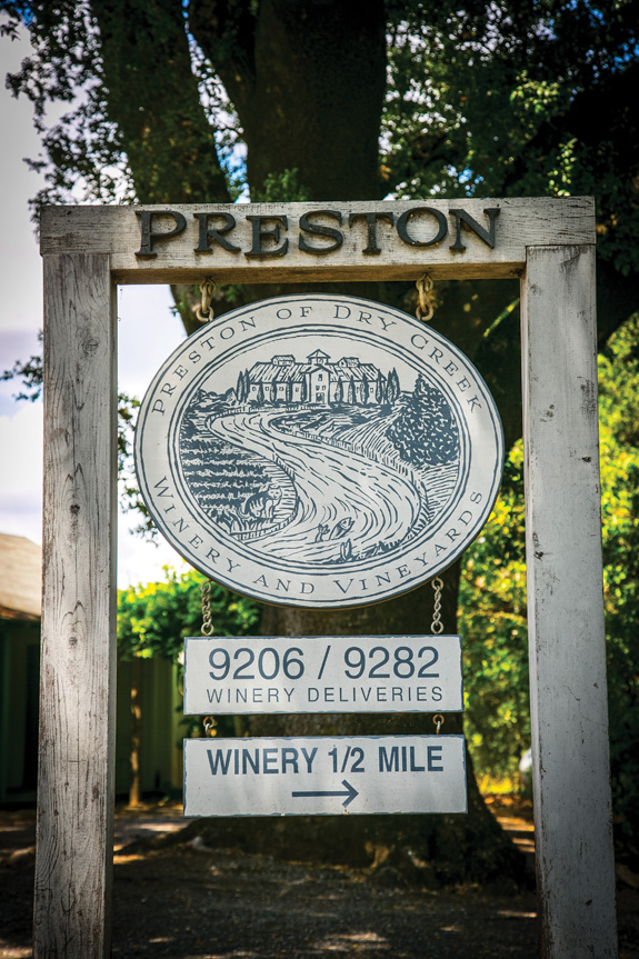 Preston Farm and Winery is wine country's poster child for biodynamic farming, embracing techniques that enrich the soil—and enhance the tasting notes of its rosé. (Photo by Jeremy Sykes)