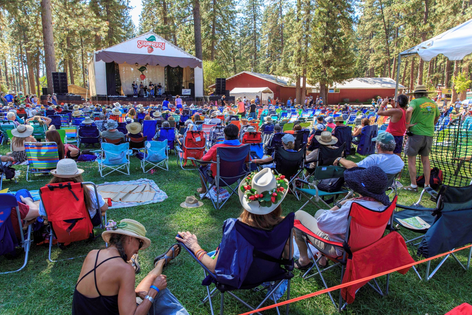 More than 20 musicians will perform at this twice-a-year music festival. (Photo courtesy of Spring Strawberry Music Festival)