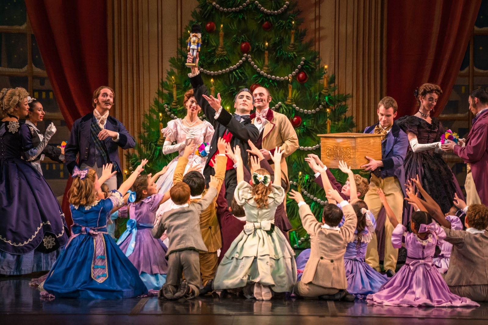 "The Sacramento Ballet will mount artistic director Amy Seiwert's interpretation of ""The Nutcracker"" for the second year. (Photo by Keith Sutter)"