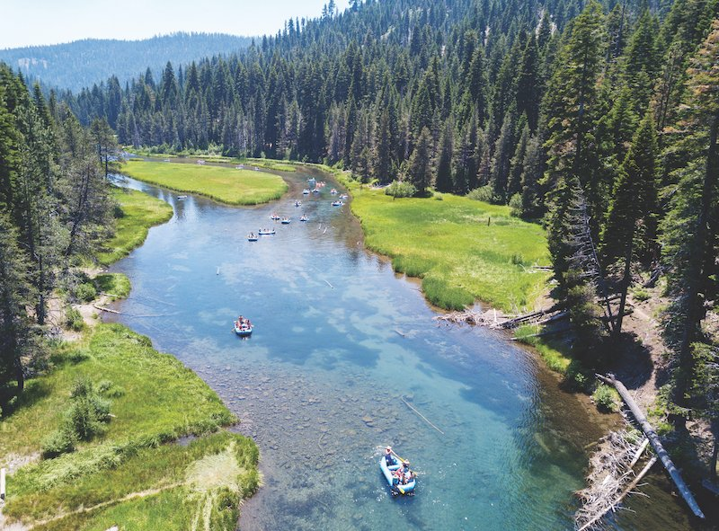 Float over the Truckee River and through the woods this summer. (Photo by Niel Kasper)