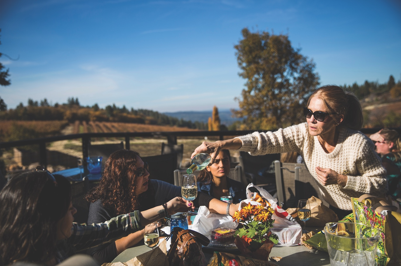 Drink in the views at Lava Cap Winery. (Photo by Max Whittaker)