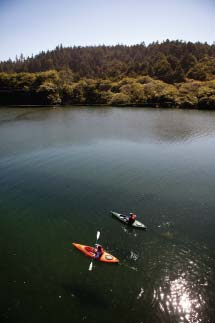 Adventure Rents offers kayaking on Gualala River