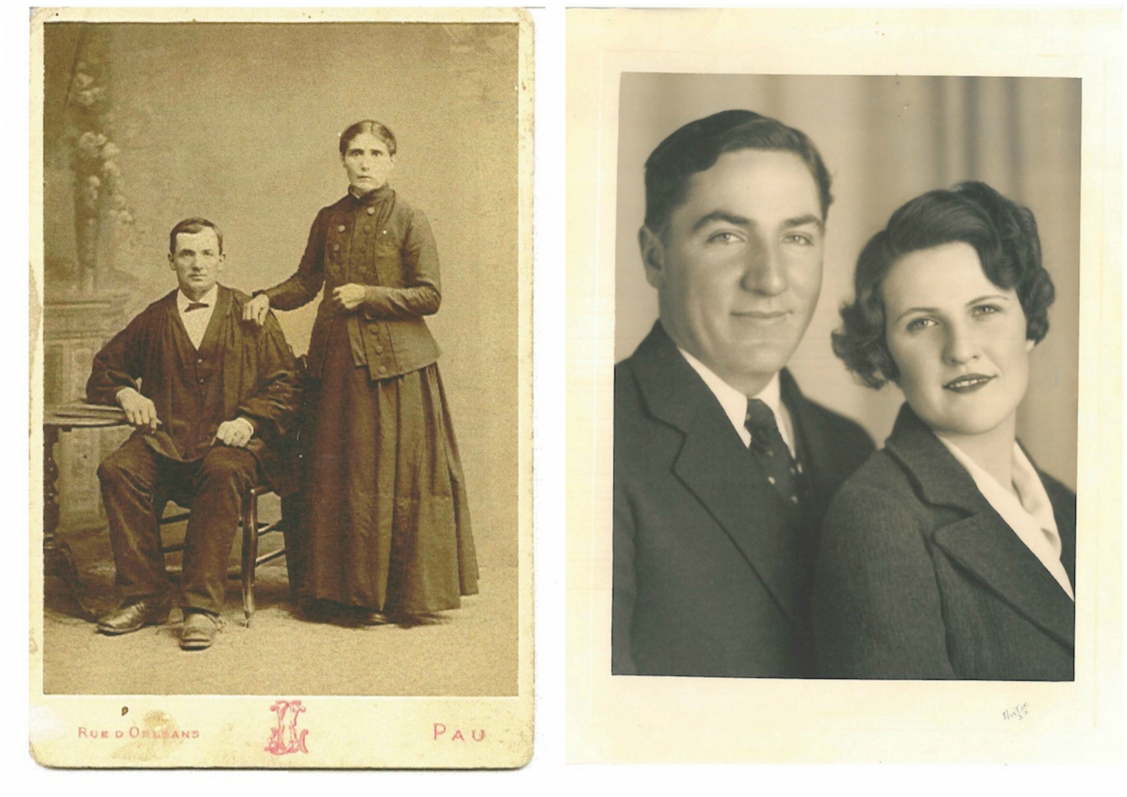 The fourth-generation Montna Farms started with Peri Montna (pictured at left with his wife Marie) and his son Dutch (pictured with his wife Emma). (Photos courtesy of the Montna family)