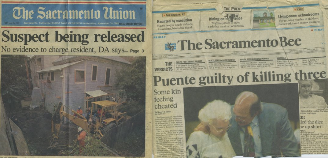 Intense news coverage led to Puente's trial moving to Monterey. (Courtesy of John Cabrera)