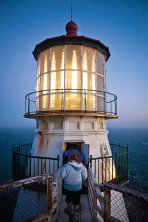 The Point Reyes Lighthouse