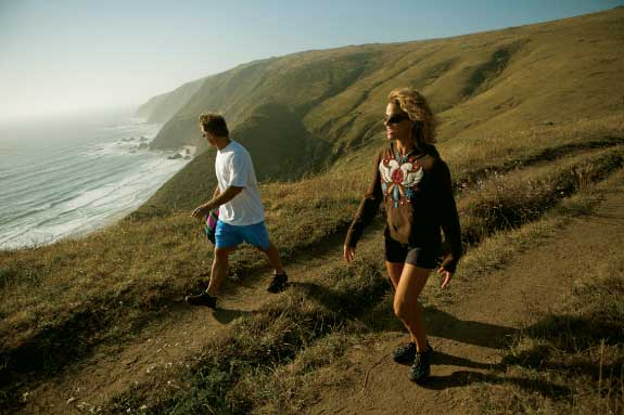 Take a scenic hike on Tomales Point Trail.