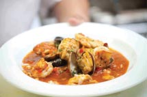 The cioppino at Sam's Anchor Cafe