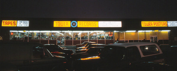 The first Tower Records store, which opened on Watt Avenue in 1961 (Photo courtesy of Sean Stuart)