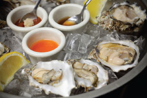 The oysters at Mayes