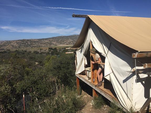 cush camping
