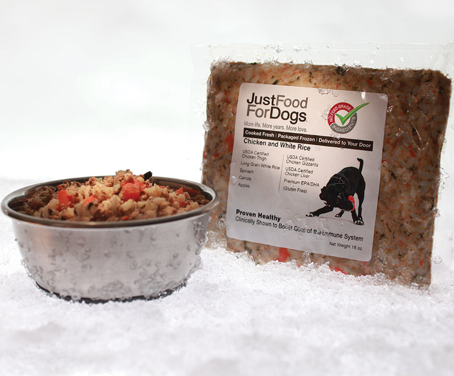 San Diego pet food Just Food For Dogs natural dog
