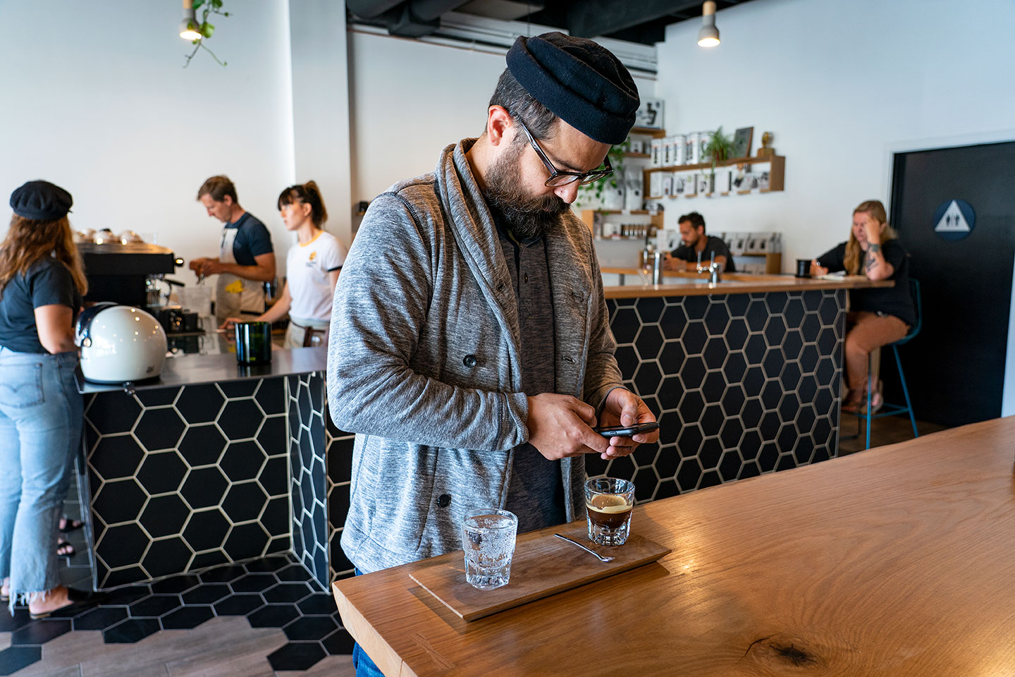 Chef Andrew Santana at Steady State Roasting Co