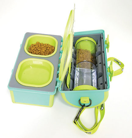 pets gift guide pet pail dog feeder travel