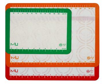 culinary gift guide holiday miu france silicone baking mat circle stencils