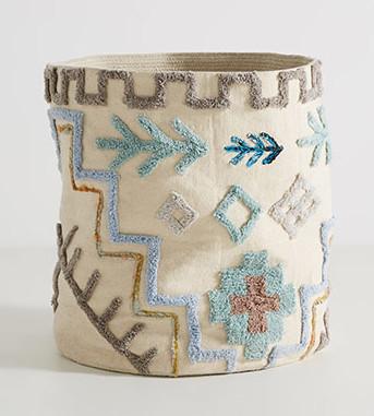 craft gift guide anthropologie tulum basket