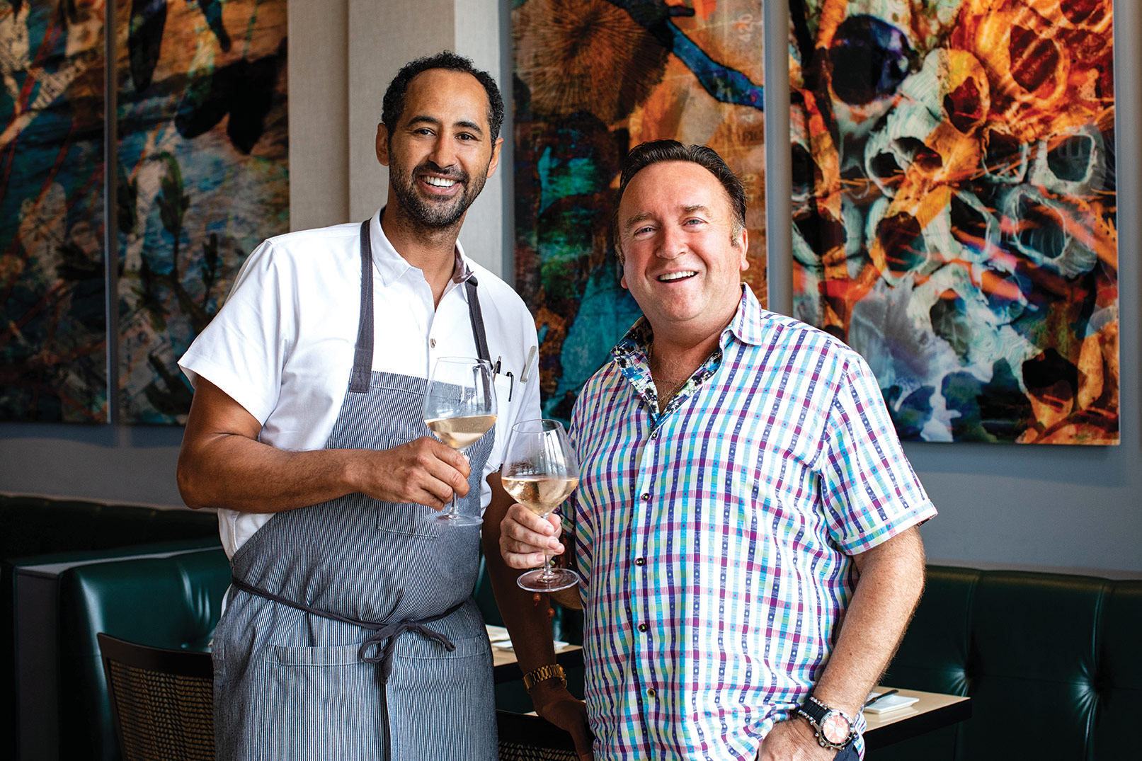 Chef Bernard Guillas Jason Knibb san diego restaurant dining