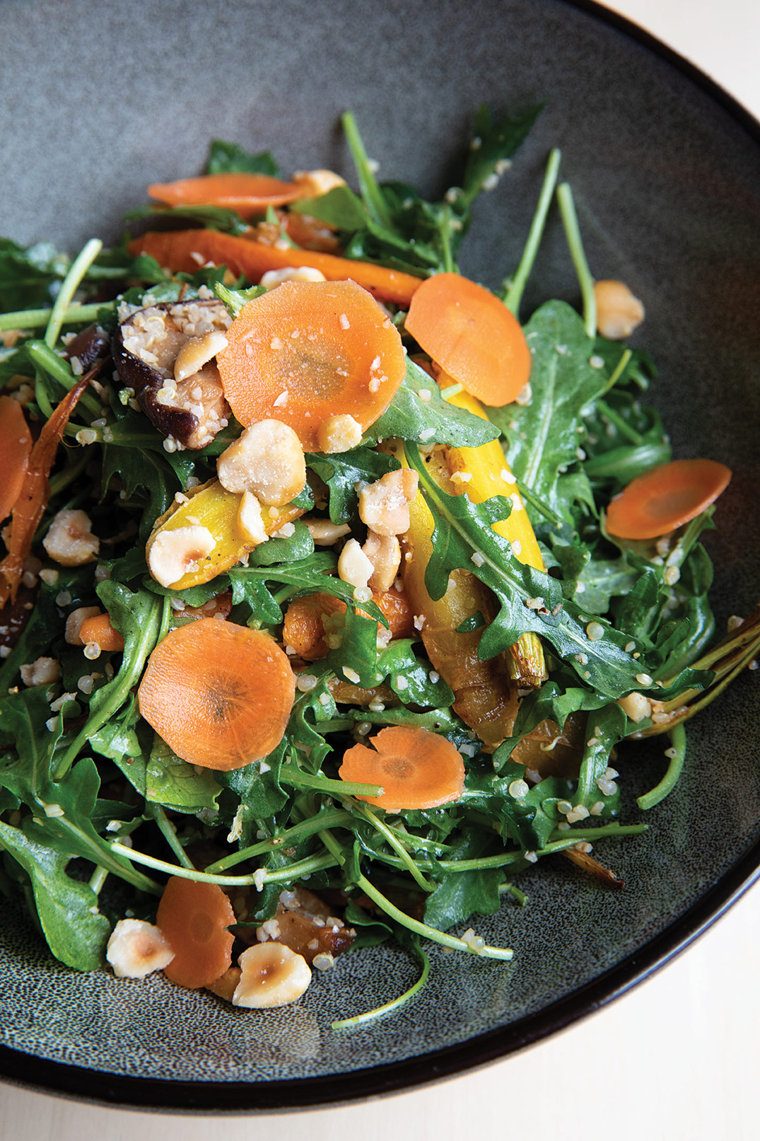 Chef Bernard Guillas Nine-Ten quinoa bowl San Diego dining restaurant