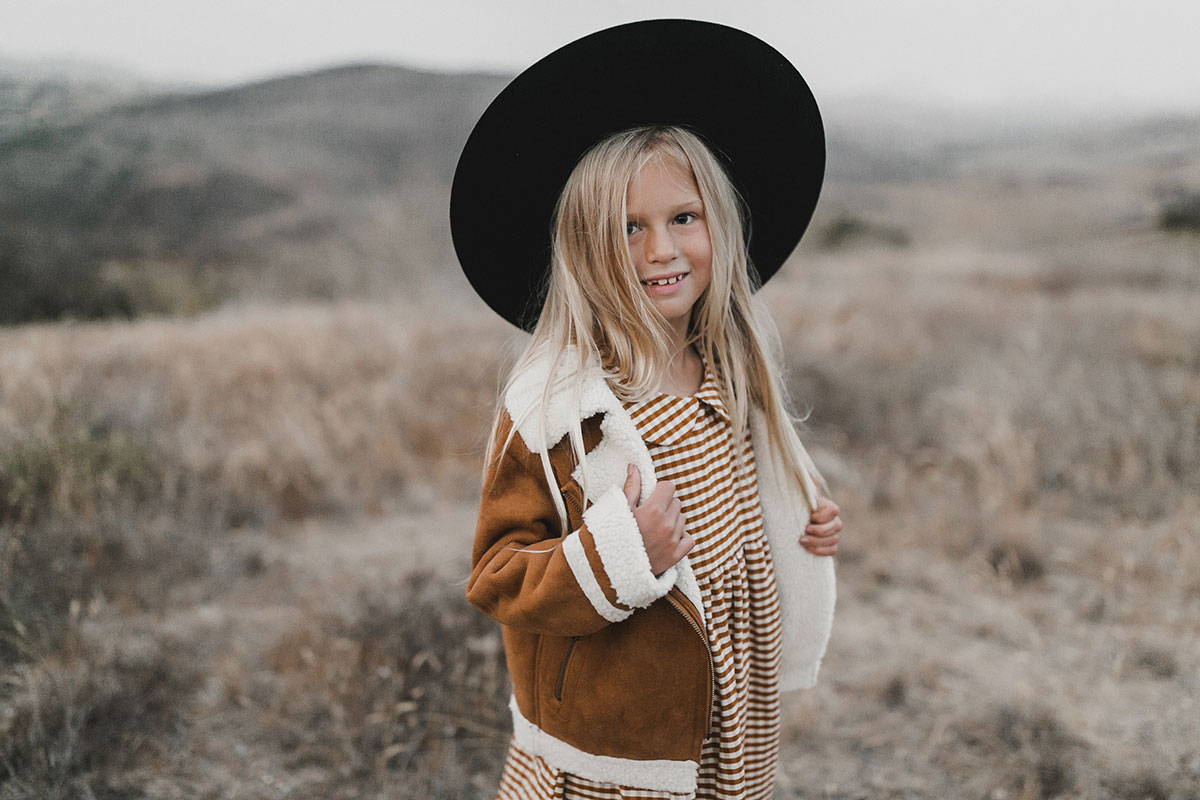kids gift guide rylee + cru biker jacket