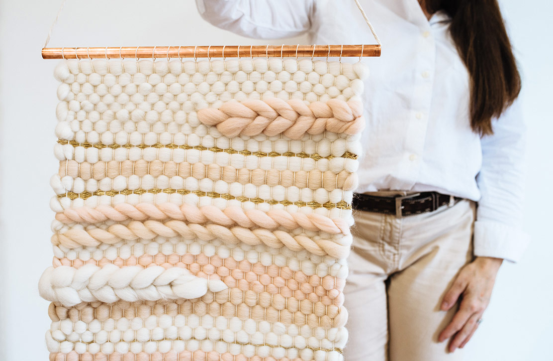 craft gift guide loom wool couture rectangular weaving loom kit