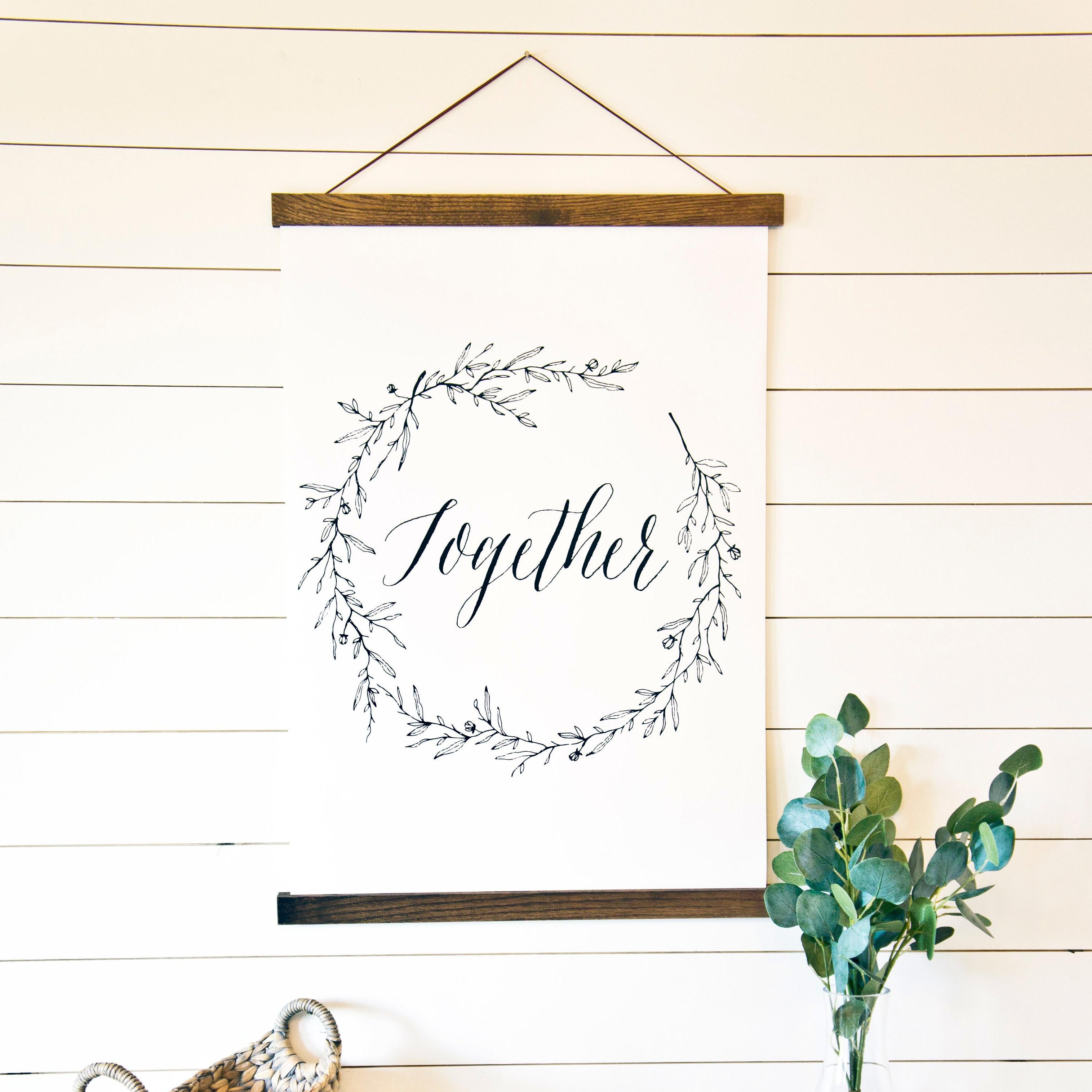 craft gift guide frame sticks magnetic poster photo hanging kit etsy