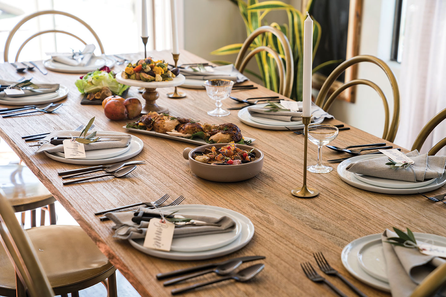 DIY wreath making party Root Cellar Catering