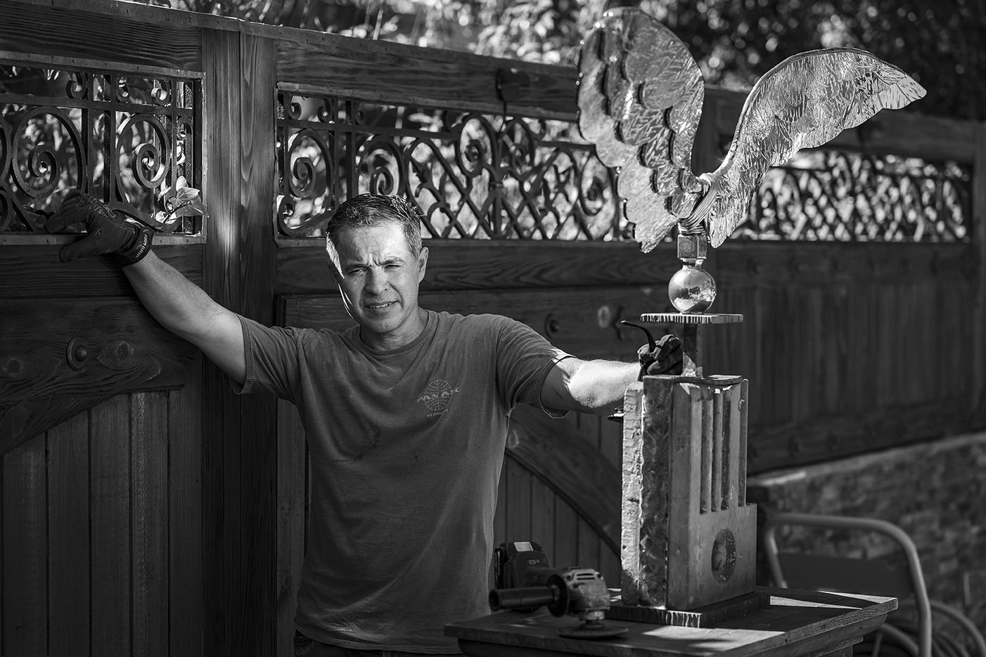 Cesar Mendez #secretlivesweek secret lives doormaker entryways san diego sculpture found art