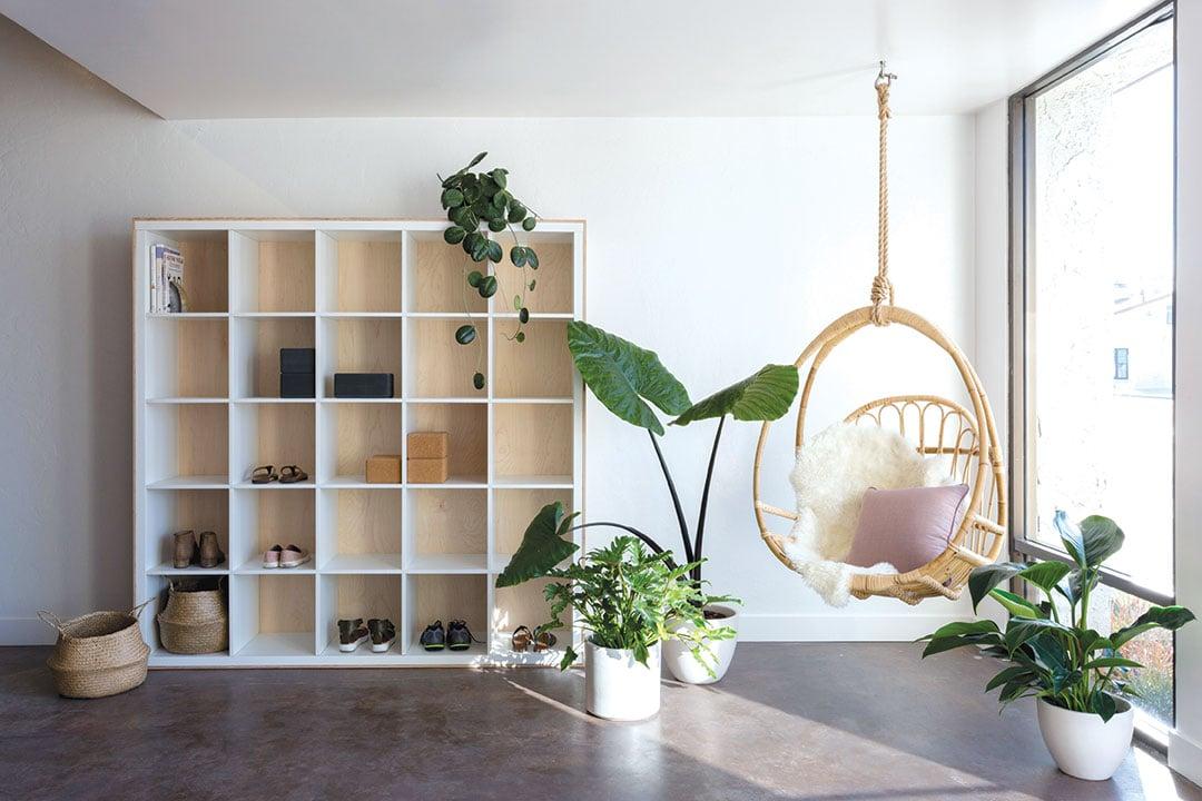 yoga studio design at home