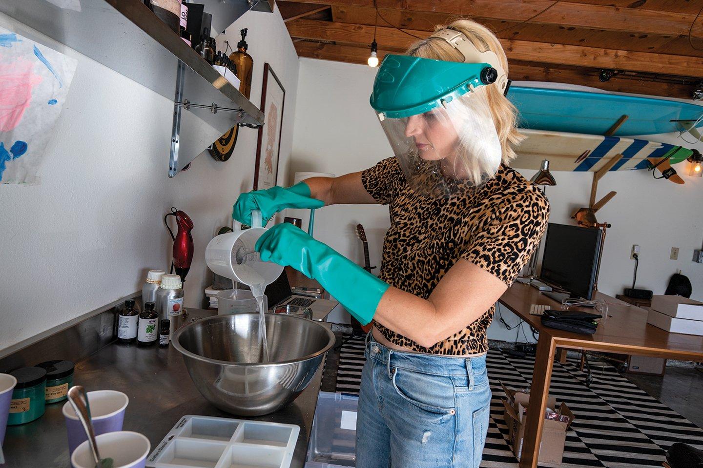 Melissa McFarlin #secretlivesweek secret life soapmaking natural soaps